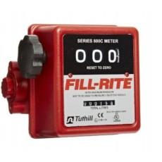 "FM-800 1"" (3 Digit) Mechanical Flowmeter - Fill-Rite"
