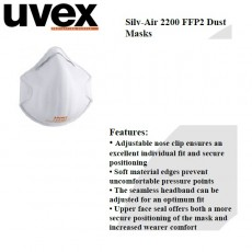 UVEX Silv-Air 2200 FFP2 Dust Mask