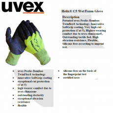 UVEX Helix C5 Wet/Foam Glove
