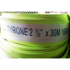 Polyester Fire Hose Without Coupling - TYRONE 16 Bar