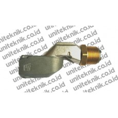 "3/4"" Fuel Hose S-Swivel Fitting"